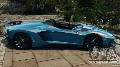 Lamborghini Aventador J 2012 v1.2 para GTA 4 left