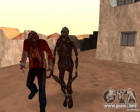 Zombie Half life 2 para GTA San Andreas novena de pantalla