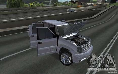 Cavalcade FXT de GTA 4 para la visión correcta GTA San Andreas