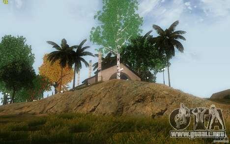 New Country Villa para GTA San Andreas sexta pantalla