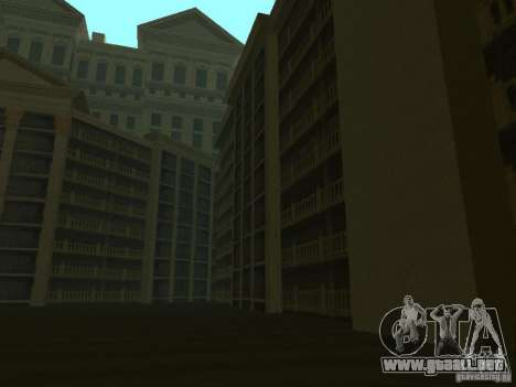 Nuevas texturas para casino Calígula para GTA San Andreas tercera pantalla