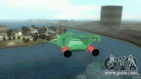 ThunderBird 2 para GTA Vice City visión correcta