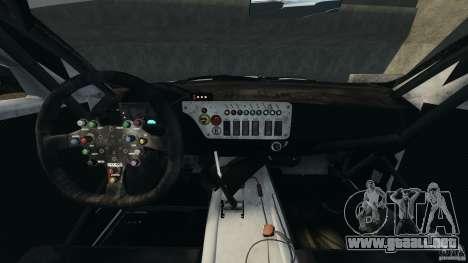 BMW Z4 M Coupe Motorsport para GTA 4 vista hacia atrás