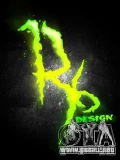 Pantalla de arranque de Monster Energy para GTA San Andreas tercera pantalla