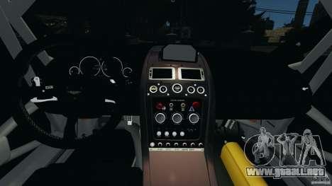 Aston Martin V12 Zagato 2011 v1.0 para GTA 4 vista hacia atrás