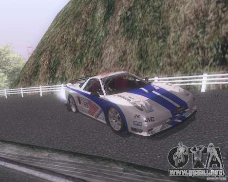 Honda NSX Japan Drift para el motor de GTA San Andreas