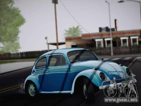 Volkswagen Beetle 1967 V.1 para GTA San Andreas left