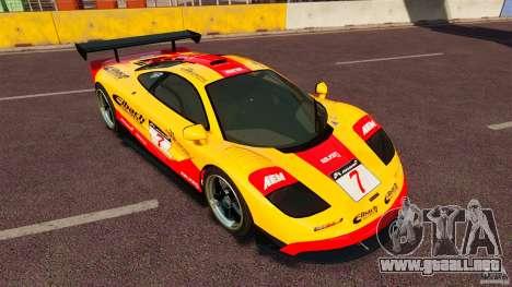 McLaren F1 para GTA 4 left