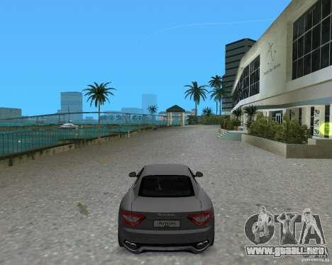 Maserati  GranTurismo para GTA Vice City left