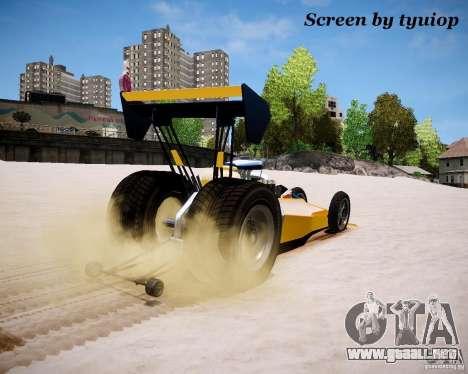 Raketomobil′ para GTA 4 vista hacia atrás
