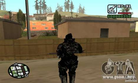 Alex Mercer v2 para GTA San Andreas quinta pantalla