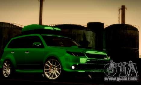 Subaru Forester RRT sport 2008 para la visión correcta GTA San Andreas