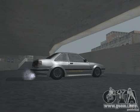 Futo de GTA 4 para GTA San Andreas vista hacia atrás