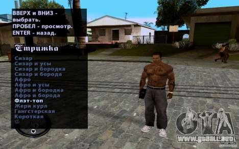 Nuevo CJ para GTA San Andreas undécima de pantalla