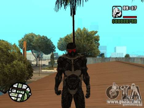 Crysis Nano Suit para GTA San Andreas