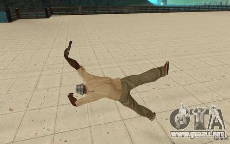 Nueva caída para GTA San Andreas quinta pantalla