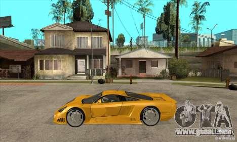 Saleen S7 Twin Turbo para GTA San Andreas left