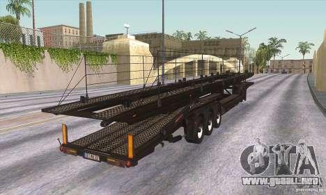 El camión de remolque para GTA San Andreas