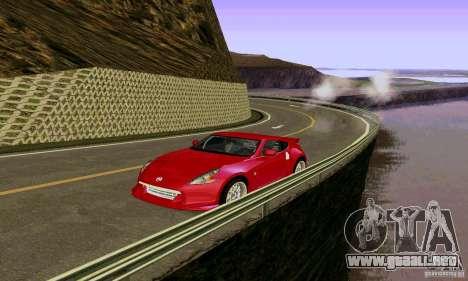 Nissan 370Z para la vista superior GTA San Andreas