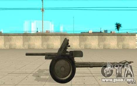 Regimiento de la pistola, 53-45 mm para GTA San Andreas left