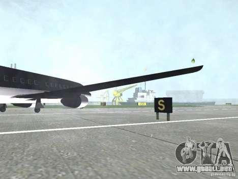 AT-400 en todos los aeropuertos para GTA San Andreas sucesivamente de pantalla