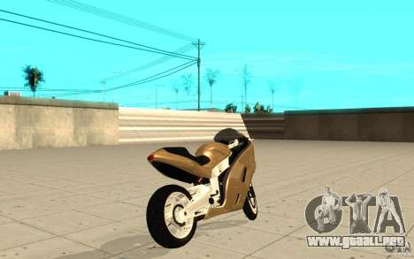 GTAIV TLAD Hakuchou Custom Version para GTA San Andreas vista posterior izquierda