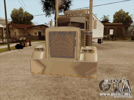 Peterbilt 379 Custom para GTA San Andreas left