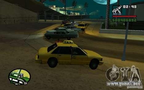 Amstrad en un accidente para GTA San Andreas