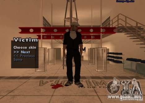 Nueva mafia rusa piel # 1 para GTA San Andreas segunda pantalla
