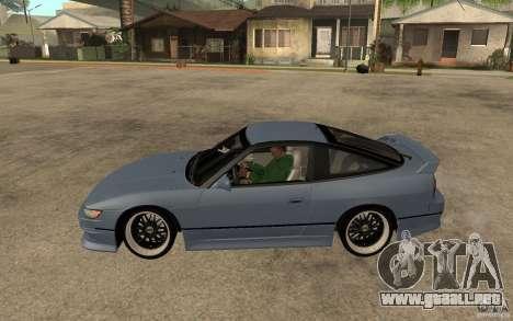 Nissan Silvia80 - EMzone Edition para GTA San Andreas left