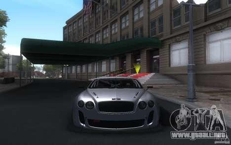 Bentley Continental Super Sport Tuning para GTA San Andreas left