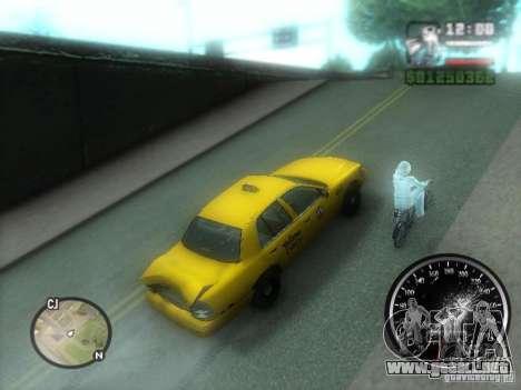 Lluvia helada para GTA San Andreas tercera pantalla