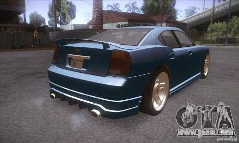 GTA IV Buffalo para la visión correcta GTA San Andreas