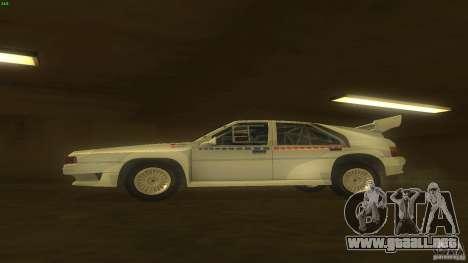 Citroen BX 4TC para GTA San Andreas left