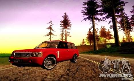 Range Rover Supercharged para las ruedas de GTA San Andreas