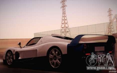 Maserati MC12 V1.0 para GTA San Andreas left