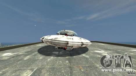 UFO ufo textured para GTA 4 left