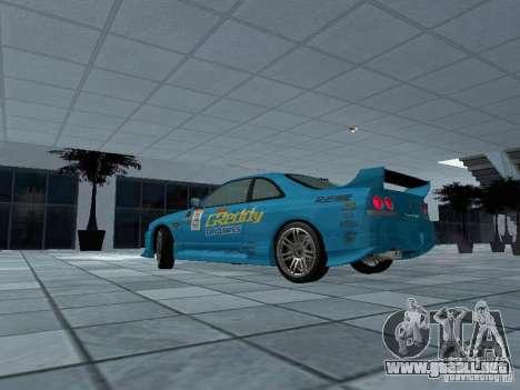 Nissan Skyline R 33 GT-R para GTA San Andreas left