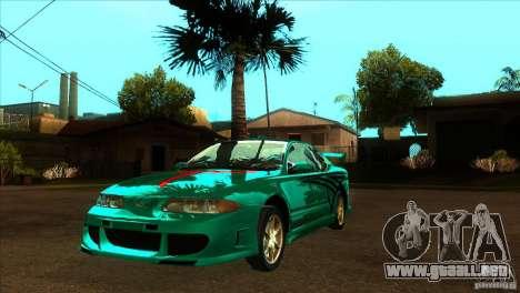Oldsmobile Alero 2003 para la vista superior GTA San Andreas