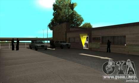 Renovación de autoescuelas en San Fierro para GTA San Andreas tercera pantalla