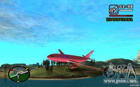 Airbus A-310 S7 SanFierroAir para GTA San Andreas