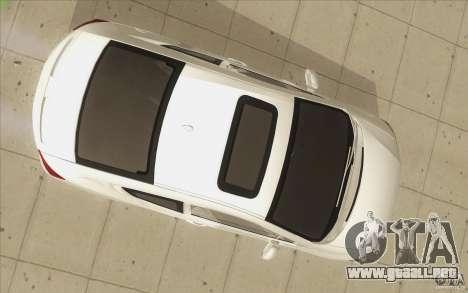 Honda Civic SI 2012 para vista inferior GTA San Andreas