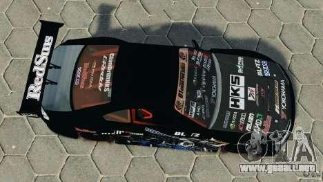 Nissan Silvia S15 HKS para GTA 4 visión correcta