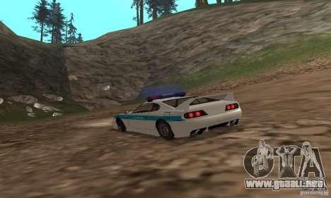 Jester Russian Police para la visión correcta GTA San Andreas