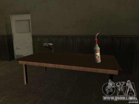 Pak versión doméstica armas 2 para GTA San Andreas novena de pantalla