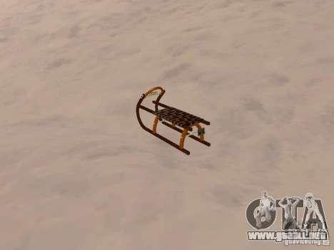 Trineo v2 para la visión correcta GTA San Andreas