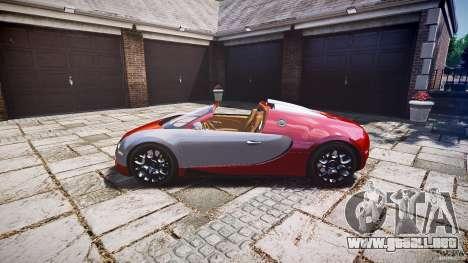 Bugatti Veyron Grand Sport [EPM] 2009 para GTA 4 vista hacia atrás