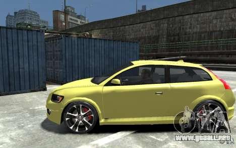 Volvo C30 T5 R-Design 2009 para GTA 4 left