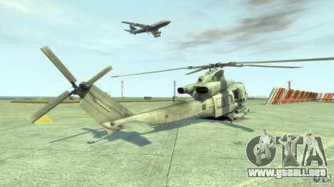 Bell UH-1Y Venom para GTA 4 Vista posterior izquierda