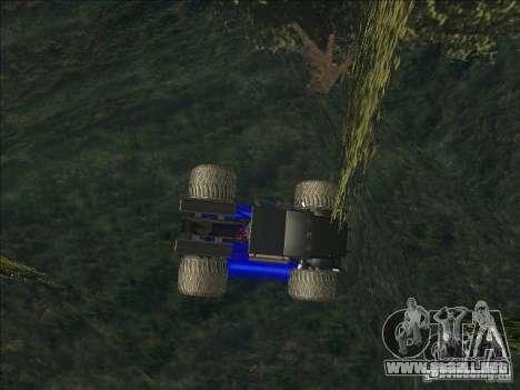 Monsterous Truck para GTA San Andreas left